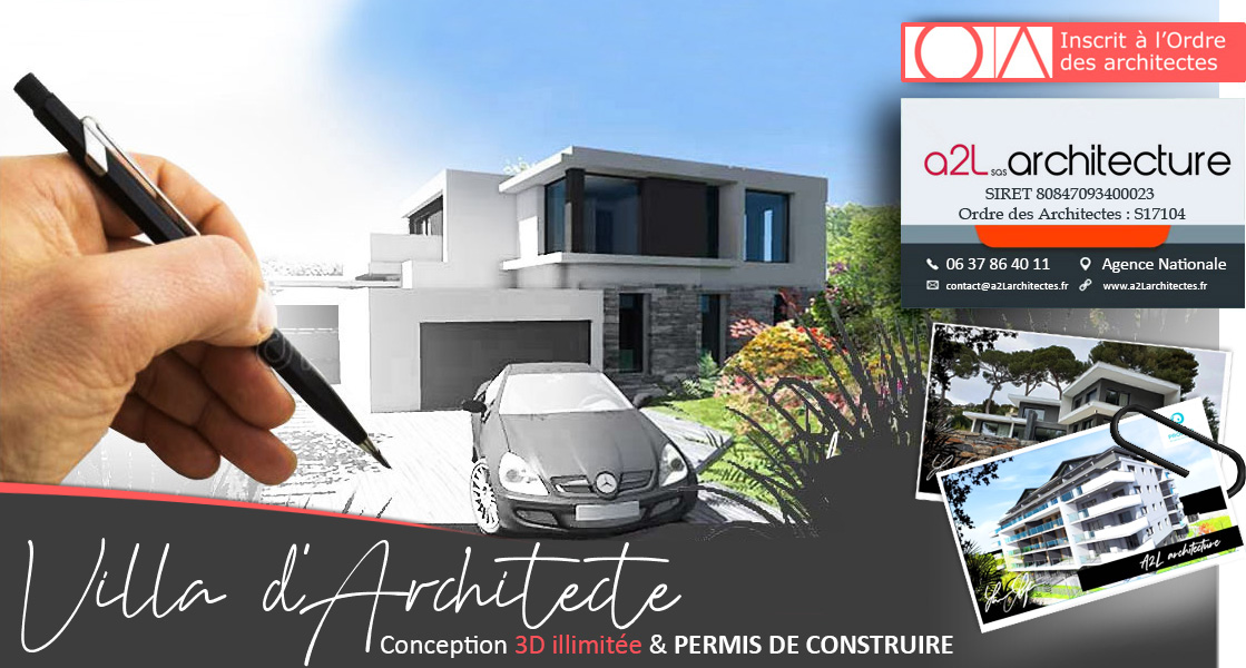 A2l architectes permis de construire conception de for Obligation architecte permis de construire